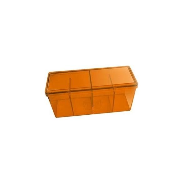 Dragon Shield - Box 4 scomparti - Orange Deck Box