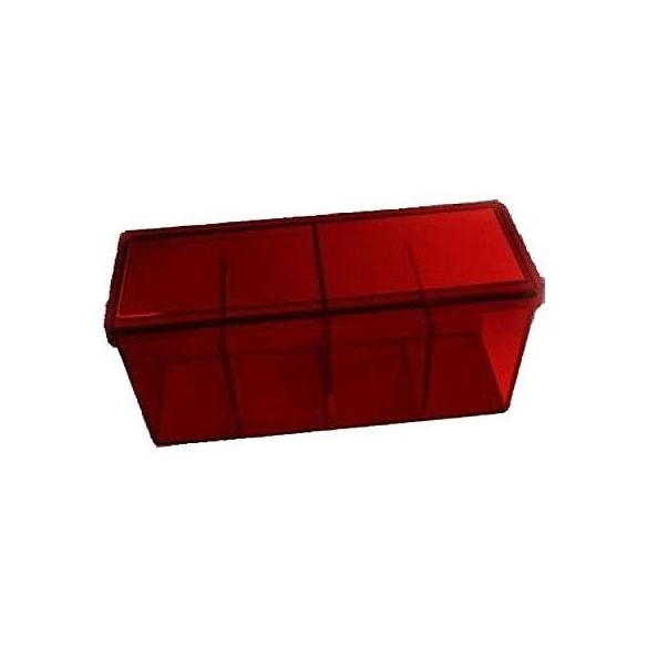 Dragon Shield - Box 4 scomparti - Red Deck Box
