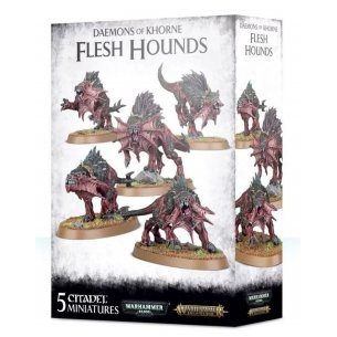 Daemons Of Khorne - Flesh Hounds Blades of Khorne