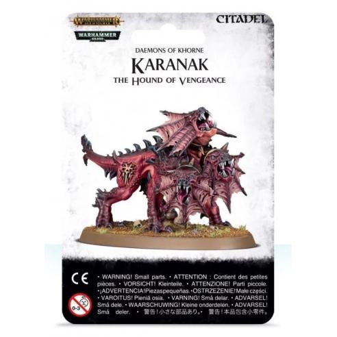 Daemons Of Khorne - Karanak the Hound of Vengeance Blades of Khorne