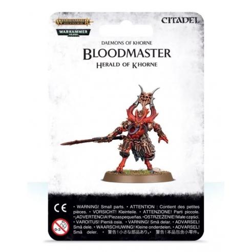 Daemons Of Khorne - Bloodmaster, Herald of Khorne Blades of Khorne